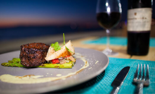 Dinner - Almar Resort Luxury LGBT Beach Front Experience