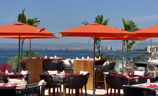 The Top Sky Bar - Almar Resort Luxury LGBT Beach Front Experience