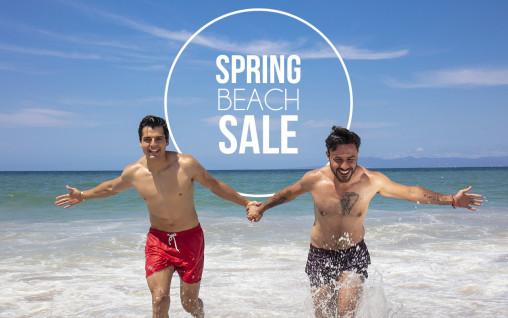 Spring Beach Sale
