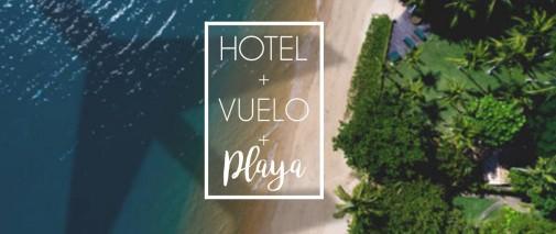 Hotel + Flight + Beach = Perfect Summer