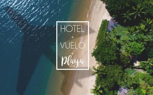 Hotel + Vuelo + Playa =  El verano Perfecto