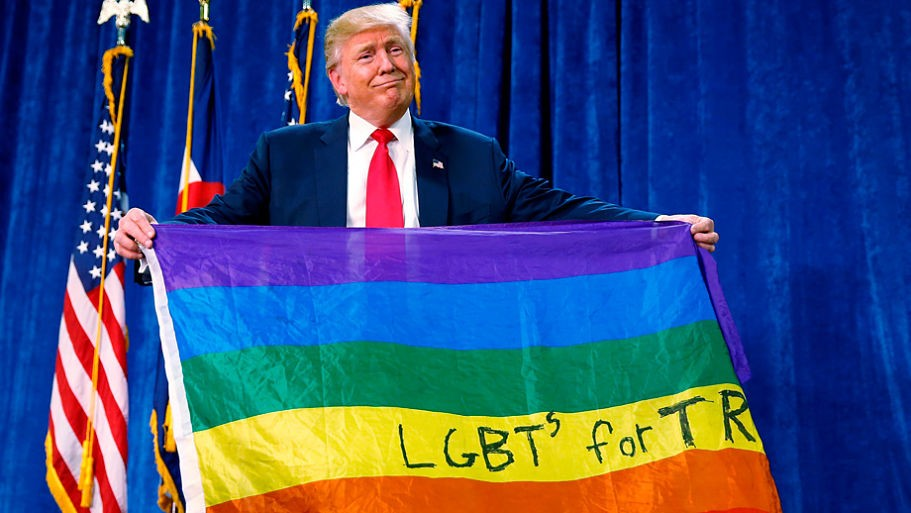 Donald Trump rejects trans soldiers