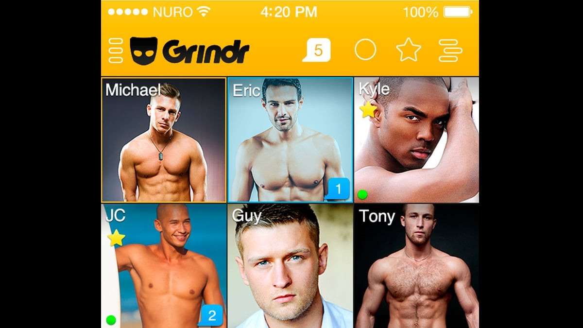 Love is on Grindr