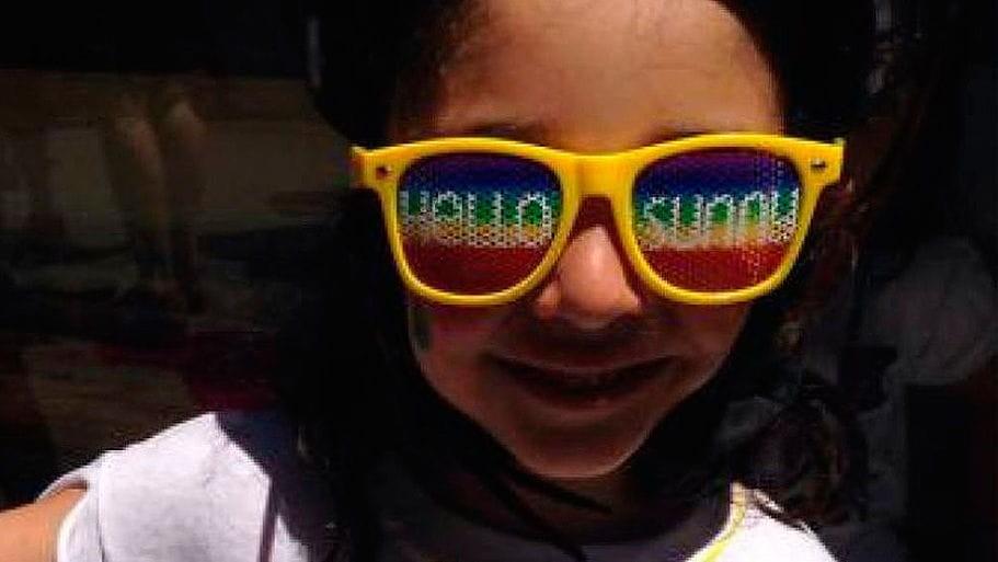 Sophía es la primera niña trans legal en México